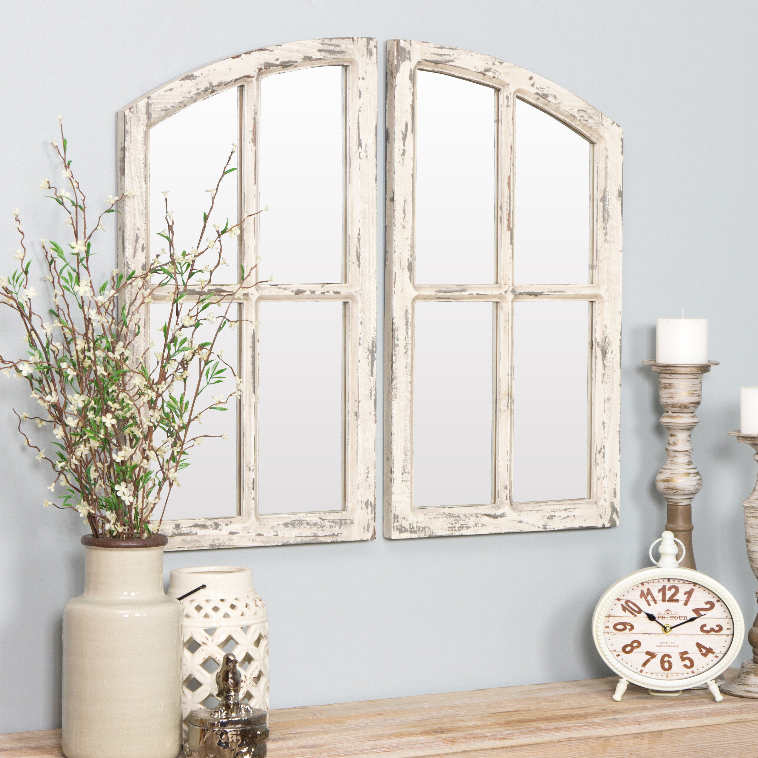 Cottage Country Wall Mirrors You Ll Love In 2021 Wayfair