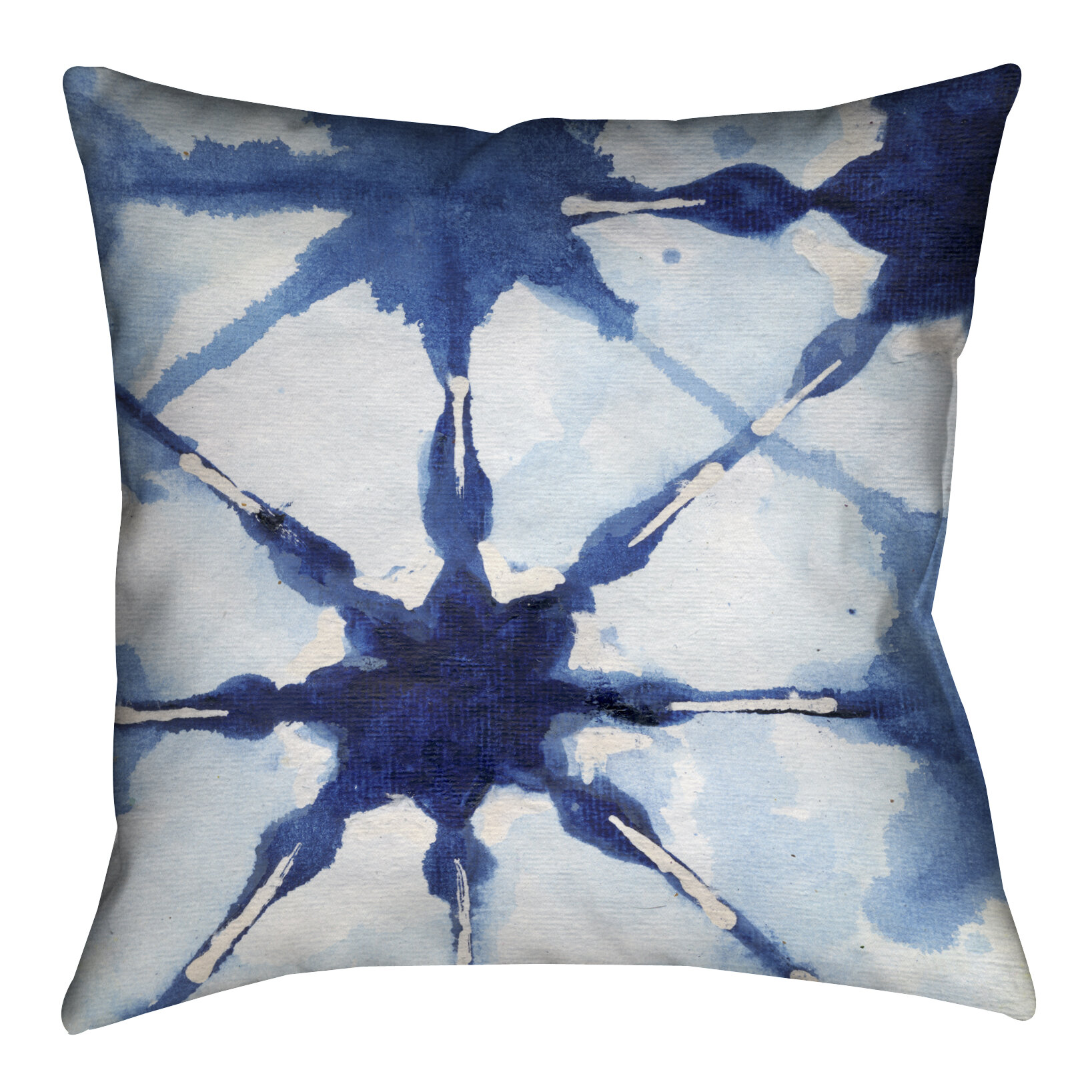 Lauralhome Brasher Shibori Ii Outdoor Throw Pillow Wayfair