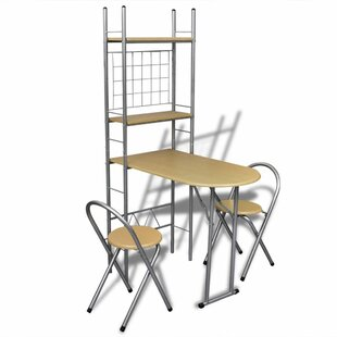 Sandin Folding Dining Set With 2 Chairs By 17 Stories
