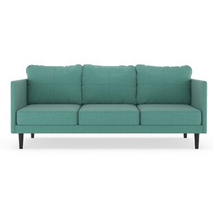Rock Island Linen Weave Sofa by Brayden Studio