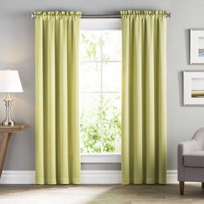Wayfair Basics Solid Room Darkening Rod Pocket Curtain Panel Pair