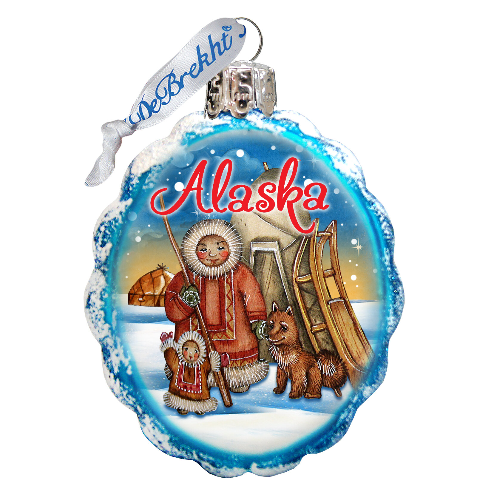 The Holiday Aisle Eskimo Shaped Ornament Wayfair