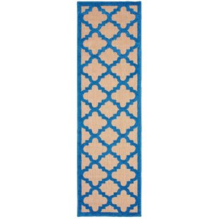 Negron Brown/Blue Indoor/Outdoor Area Rug