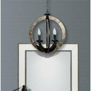 Gracie Oaks Wheatfield 4-Light Pendant