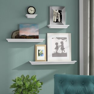 Kellems 4 Piece Wall Shelf Set