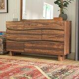 Hiram 6 Drawer Dresser byMistana