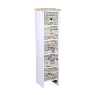 Cevennes 5 Drawers Chest By World Menagerie