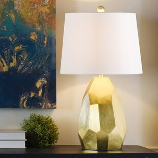 Everly Quinn Paddock Painted 25'' Table Lamp
