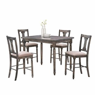 Gatsby 5 Piece Counter Height Dining Set by Ophelia & Co.