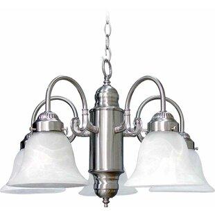 Emington 5-Light Shaded Chandelier by Three Posts