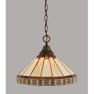 Bargain Cedarpoint 1-Light Bowl Pendant By Red Barrel Studio