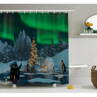 Great Price Frozen Lake Shower Curtain By East Urban Home