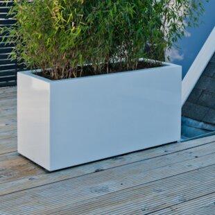 Pottery Pots Sleek Fiberstone Planter Box