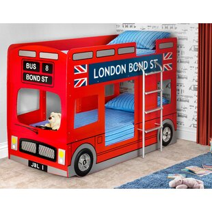 Caleb Single Bed Bunk by Zoomie Kids