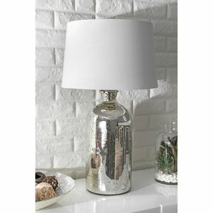 Affordable Billips Glass 28 Desk Lamp By Bungalow Rose