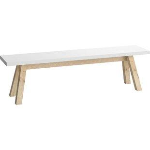 Gemini Wood Bench By Brayden Studio