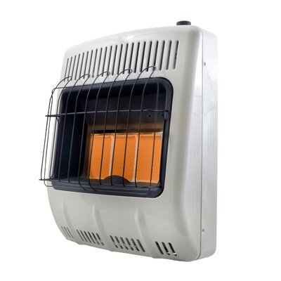 20,000 BTU Radiant Wall Mounted Heater Mr. Heater