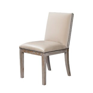 Pavia Leather Side Chair (Set of 2) by Cu..