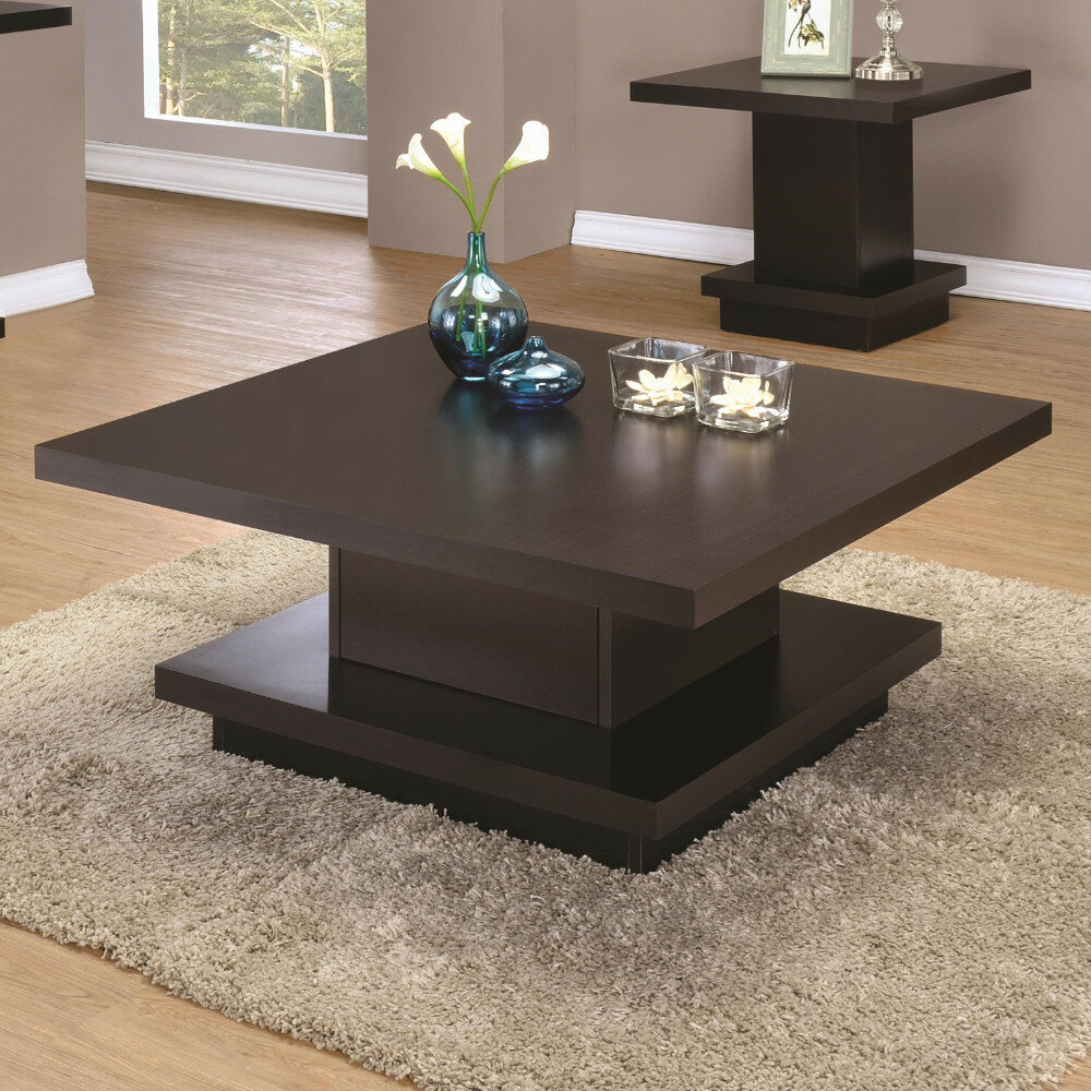 - Wrought Studio Emmi Contemporary Coffee Table With Storage