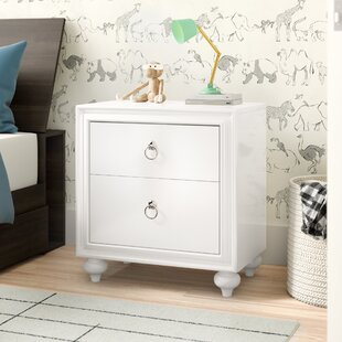 Milland 2 Drawer Nightstand