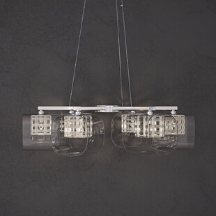 Willa Arlo Interiors Ja 6-Light Shaded Chandelier