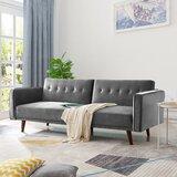 Dalewood Velvet Modular 84.2'' Square Arm Sofa by George Oliver