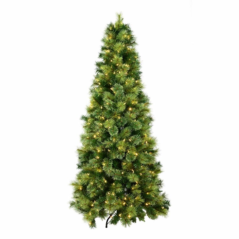 Green And White Christmas Tree: The Seasonal Aisle Brixworth 6ft Green Pine Artificial
