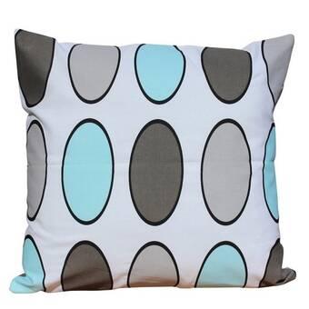 The Pillow Collection Elvy Cotton Throw Pillow Reviews Wayfair
