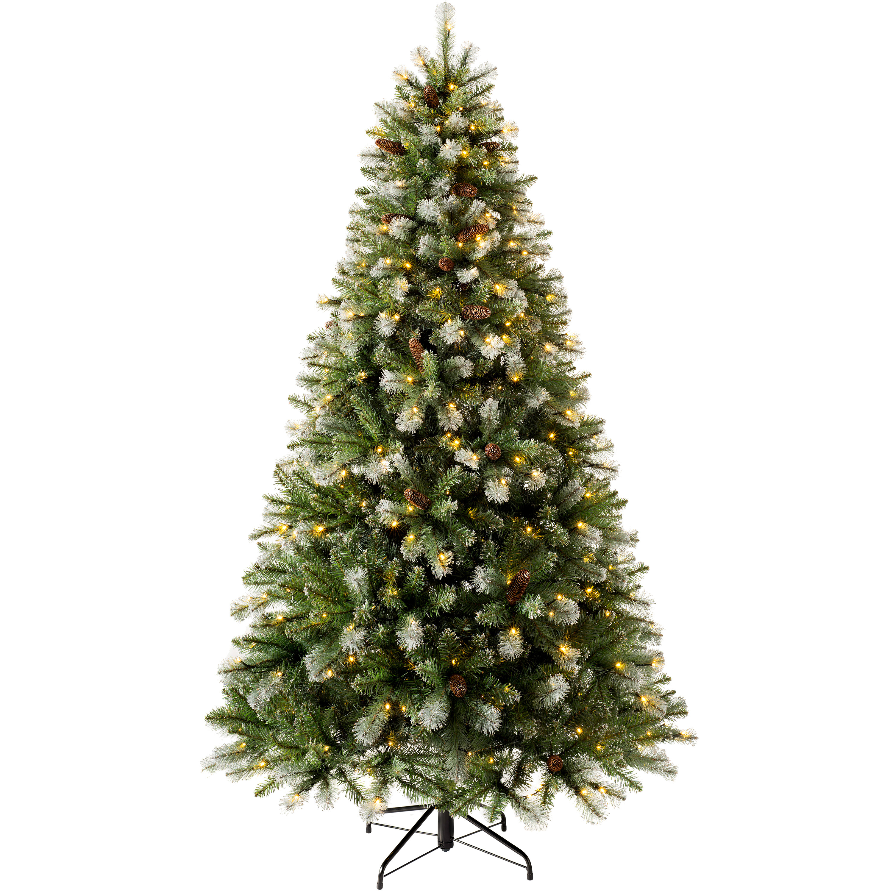 The Seasonal Aisle 6ft Green Spruce Artificial Christmas Tree With 300 Clear And White Lights Reviews Wayfair Co Uk