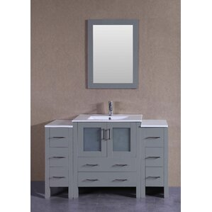 54 Inch Vanity | Wayfair