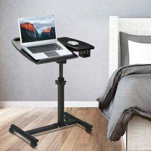 Alberta Height Adjustable Standing Laptop Desk Cart by Symple Stuff