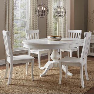 Zeinab 5 Piece Dining Set by Beachcrest H..