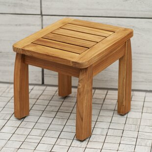 Worth Teak Shower Side table