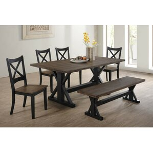 landrum 6 piece dining set - Kitchen Table And Chair Sets
