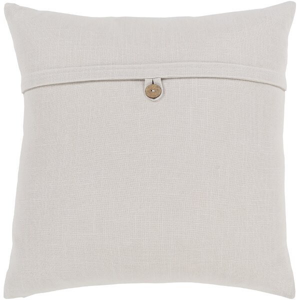 Surya Penelope Modern Cotton Throw Pillow & Reviews by Surya