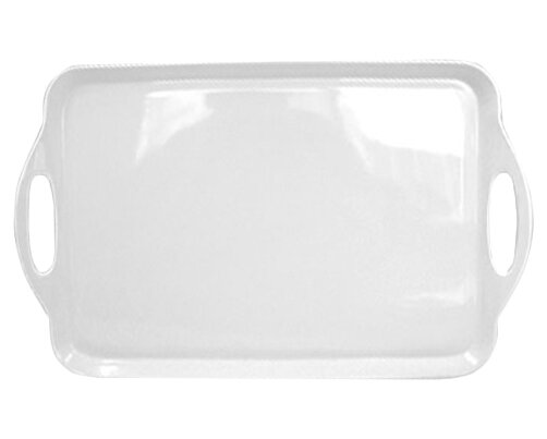 Wayfair Basics Melamine Rectangular Plastic Serving Platter