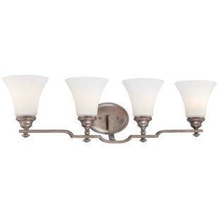 Bargain Wellington Ave. 4-Light Vanity Light By Minka Lavery