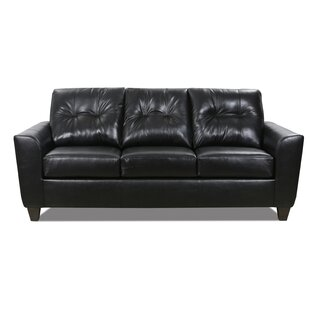 Magallon Leather Sofa Bed