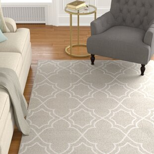 Shop For Gilead Trellis Taupe/White Indoor/Outdoor Area Rug By Alcott Hill