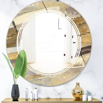 Canora Grey Shults Decorative Metal Country Wall Mirror