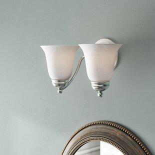 Birdsall 2-Light Vanity Light by Three Posts