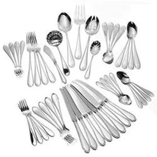 Triumph 66 Piece Sterling Silver Flatware Set, Service for 12 By Tuttle