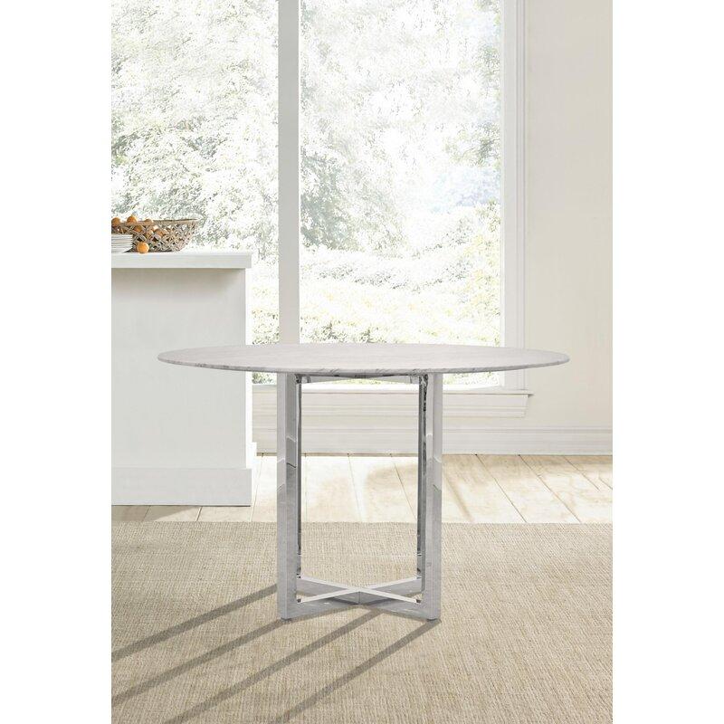 Orren Ellis Amalfi Counter Height Dining Table Wayfair