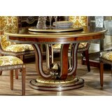 Zeus Round Dining Table by Infinity Furniture Import