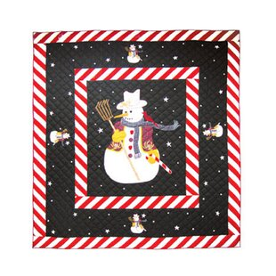 Patch Magic Frosty Snowman Quilt