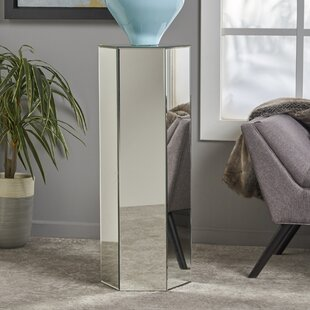 Lindel Mirror End Table