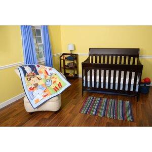 Tune Time 3 Piece Crib Bedding Set