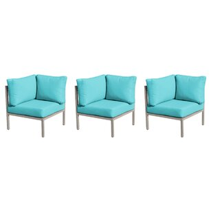 Carlisle Patio Chair with Cushions (Set of 3)