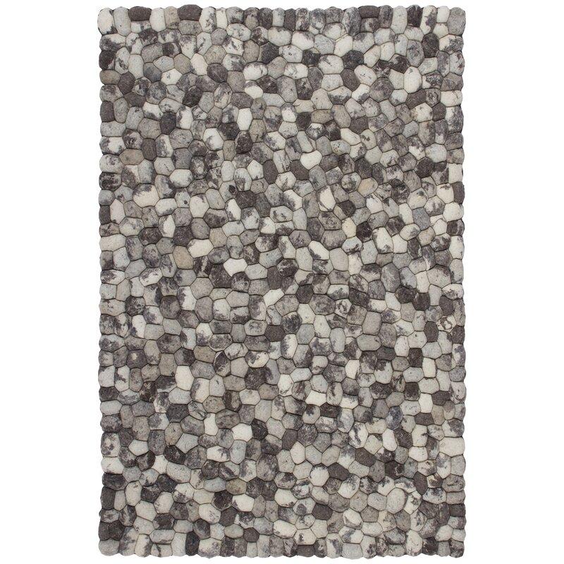 Union Rustic Duplessis Handmade Wool Grey Rug Reviews Wayfair Co Uk