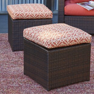 Ivy Bronx Mcmanis Ottoman with Cushion (S..